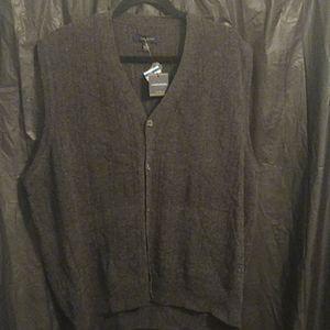 Club Room lambs wool  grey vest